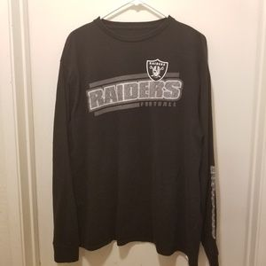 RAIDERS long sleeve t-shirt